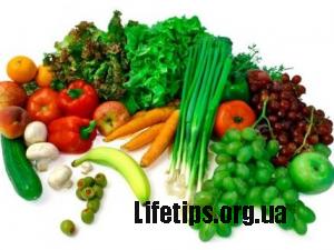 Як правильно вибирати овочі та фрукти