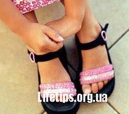 Як підібрати взутя для дитини