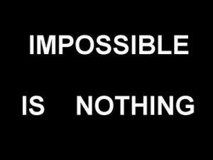 """Правило трьох """"Н"""":"""" Немає нічого неможливого!!! """""""