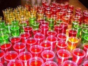 Як приготувати алкогольне желе