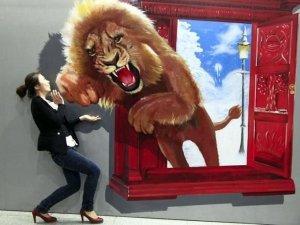 Виставка 3D картин в Китаї