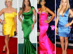 Нові моделі вечірніх суконь 2011.