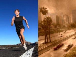 Біг захищає легені від забруднення