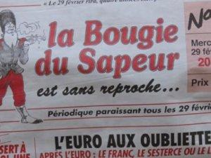 У Франції вийшов черговий випуск газети, яка видається лише високосного року