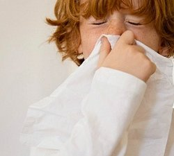 Алергія на пилок у дитини